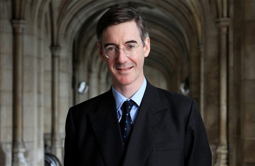 Jacob Rees-Mogg Conservative Hampstead Event