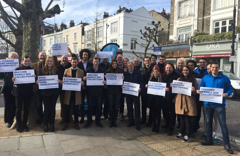 Camden Conservatives Launch Day in Primrose Hill