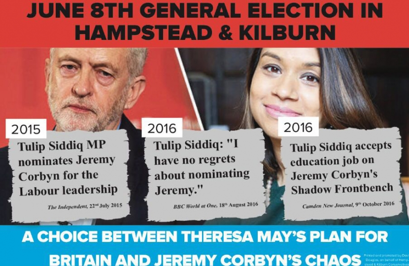 Tulip Siddiq backs Jeremy Corbyn