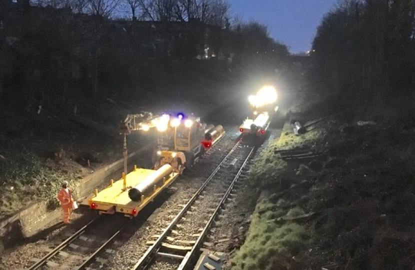 Gospel Oak to Barking Electrification – weekend work June and July