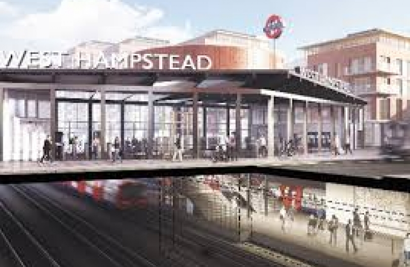 As West Hampstead Station might look as seen in the CNJ.