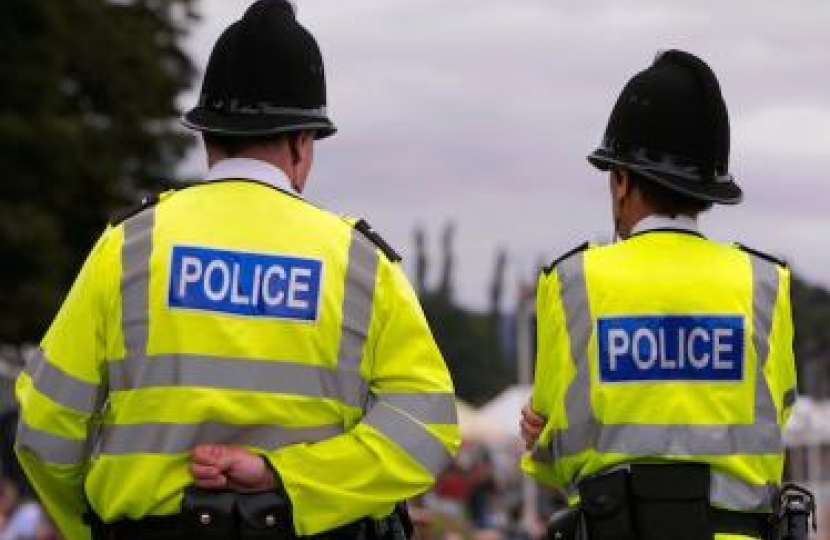 Conservatives to put more police on local street.
