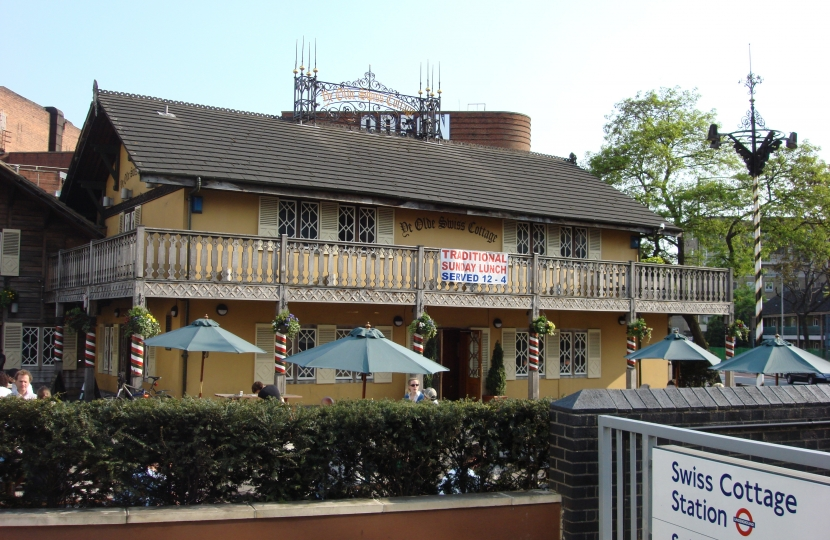 The Iconic Ye Old Swiss Cottage Pub